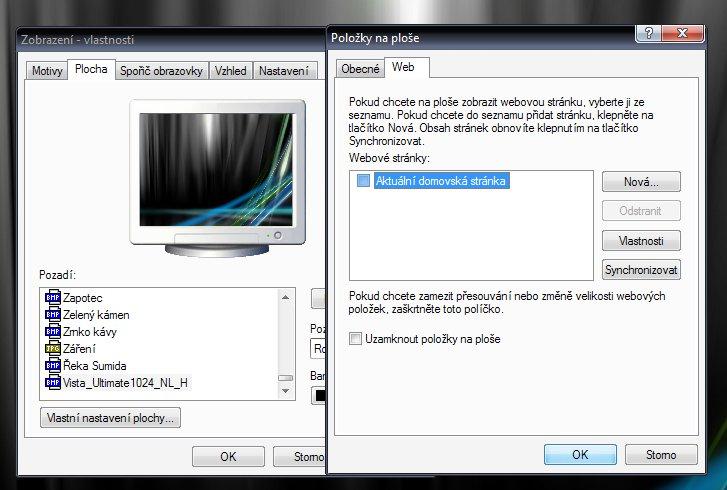 Obnovení systému Active Desktop - co to robi?